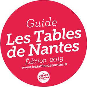 Logo guide les tables de Nantes