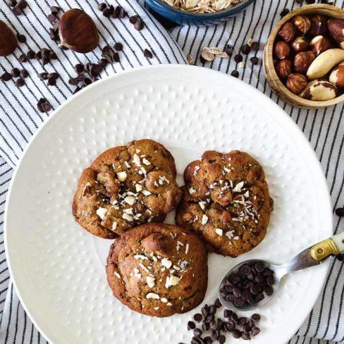 cookies à la châtaigne - Restaurant BON