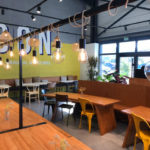Interieur restaurant bio BON Guerande